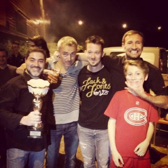 Finalistes Squash : Decathlon et Le Wam